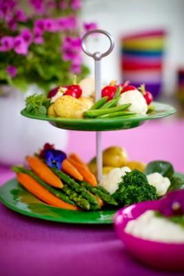 JellyBean tvåstegsfat grönsaker